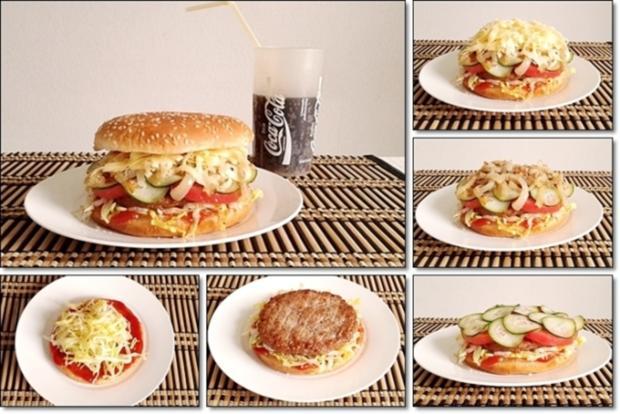 """Heißhunger auf """"Thüringer Burger"""" - Rezept - Bild Nr. 1023"""