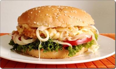 Chickenburger selber machen - Rezept - Bild Nr. 995
