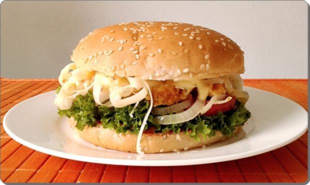 Chickenburger selber machen - Rezept - Bild Nr. 997