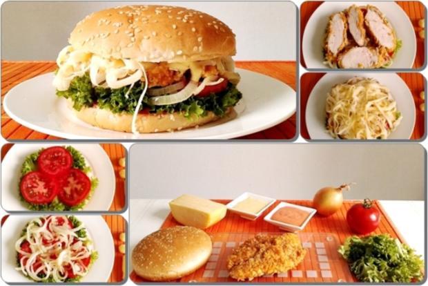 Chickenburger selber machen - Rezept - Bild Nr. 998