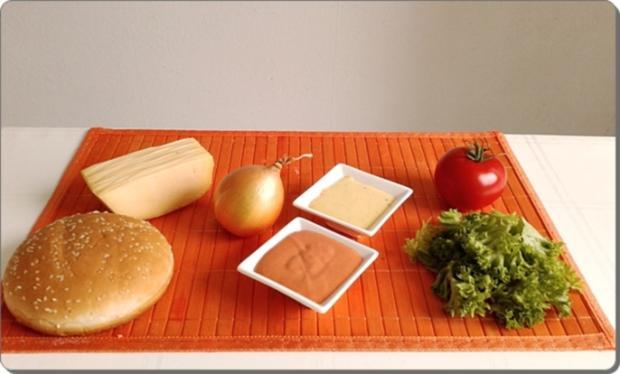 Chickenburger selber machen - Rezept - Bild Nr. 1000