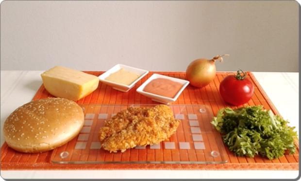 Chickenburger selber machen - Rezept - Bild Nr. 1001