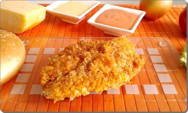 Chickenburger selber machen - Rezept - Bild Nr. 1002