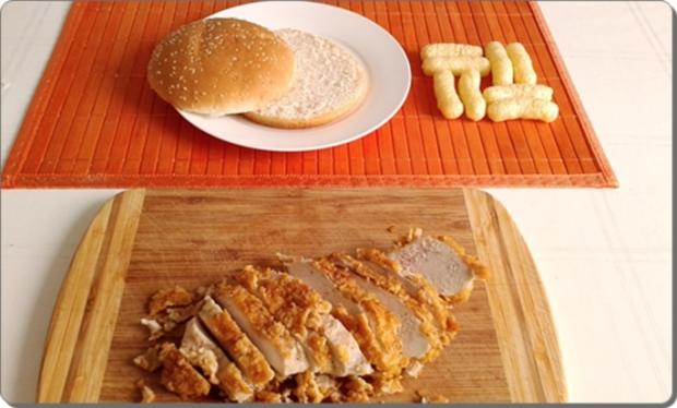 Chickenburger selber machen - Rezept - Bild Nr. 1003