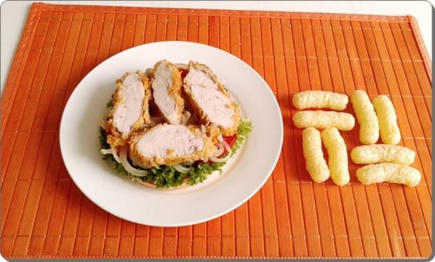 Chickenburger selber machen - Rezept - Bild Nr. 1009