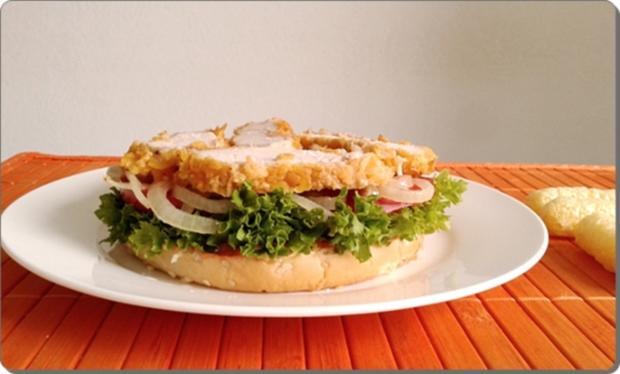 Chickenburger selber machen - Rezept - Bild Nr. 1010