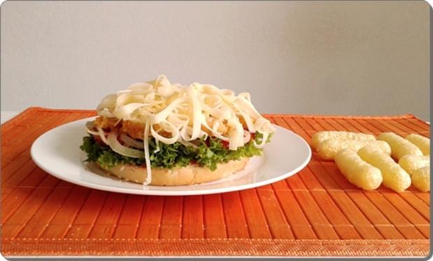 Chickenburger selber machen - Rezept - Bild Nr. 1012