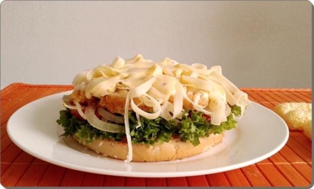 Chickenburger selber machen - Rezept - Bild Nr. 1013