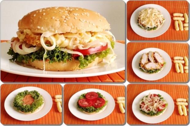 Chickenburger selber machen - Rezept - Bild Nr. 1017