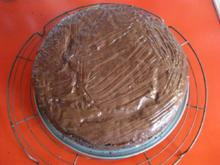 Kirsch - Schokoladen Kuchen - Rezept - Bild Nr. 1059