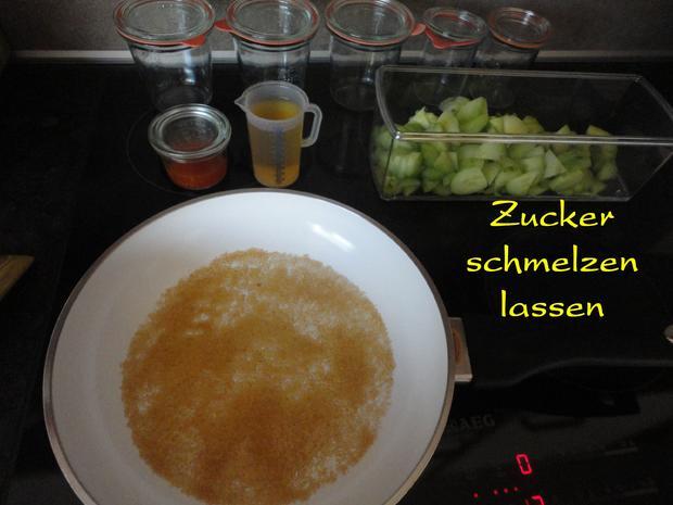 eingelegte Balsamico Gurken mit geröstetem Sesam - Rezept - Bild Nr. 1069