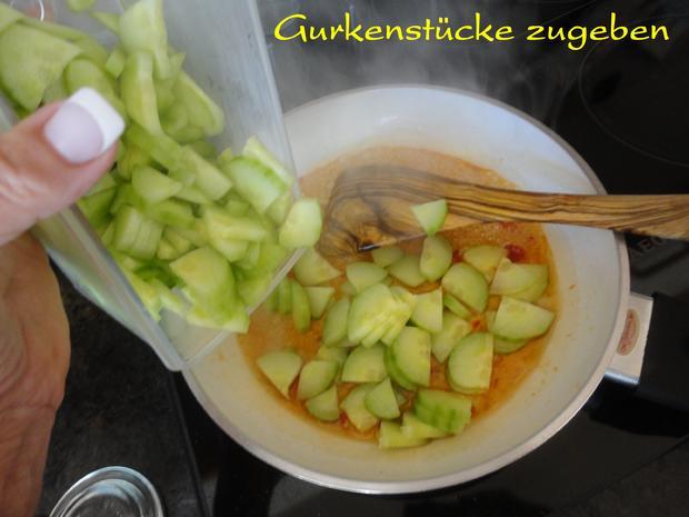eingelegte Balsamico Gurken mit geröstetem Sesam - Rezept - Bild Nr. 1072