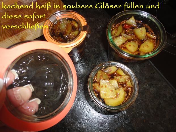 eingelegte Balsamico Gurken mit geröstetem Sesam - Rezept - Bild Nr. 1074
