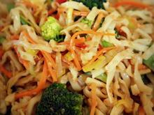 Asiatischer Sesam-Nudelsalat - Rezept - Bild Nr. 1069