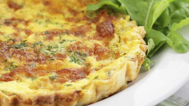 Pizzaschnecken und Quiche Lorraine mit Blätterteig - Rezept - Bild Nr. 1069