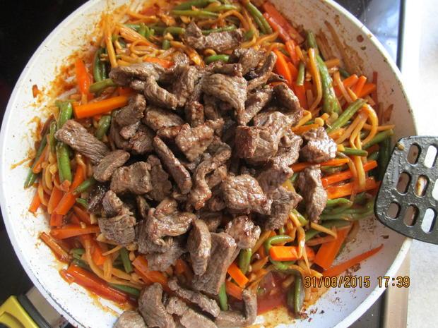 Rindfleisch asiatische Art mit Basmatireis - Rezept - Bild Nr. 1089