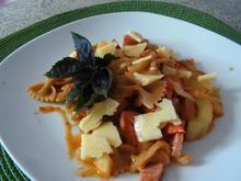 Farfalle mit Gurken und Tomaten - Rezept - Bild Nr. 1071