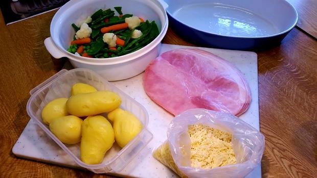 Kartoffel-Gemüse-Auflauf ... - Rezept - Bild Nr. 1075