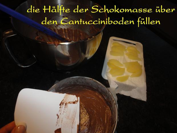 Schokolade - Birnen Torte - Rezept - Bild Nr. 1089