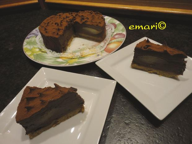 Schokolade - Birnen Torte - Rezept - Bild Nr. 1094