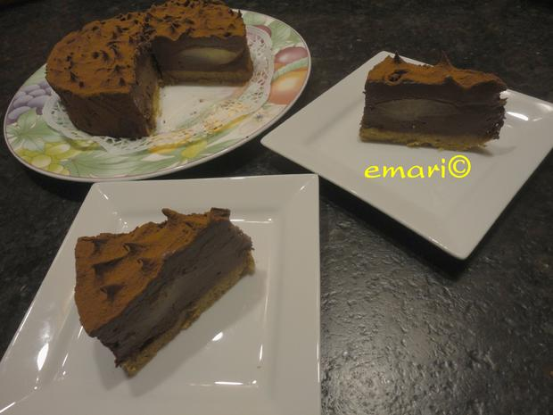 Schokolade - Birnen Torte - Rezept - Bild Nr. 1095