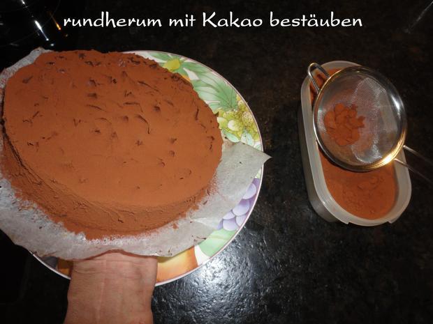 Schokolade - Birnen Torte - Rezept - Bild Nr. 1146