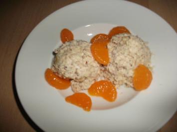 Rezept: Falsches Nuss- Eis mit Frucht Low Carb
