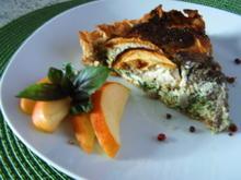 Leberwurst-Apfel-Quiche - Rezept - Bild Nr. 1091