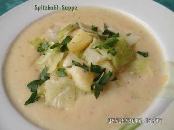 Rezept: Spitzkohl-Suppe