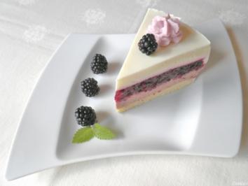 Brombeer - Schokoladen - Mascarpone - Torte - Rezept - Bild Nr. 1092