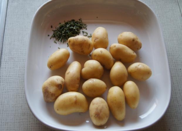 Schlemmer-Filet mit Kräuter-Seitlingen und Rosmarin-Curry-Drillingen - Rezept - Bild Nr. 1100