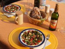Tomaten mit Mozzarella und Walnuß Chiabatta - Rezept - Bild Nr. 1098