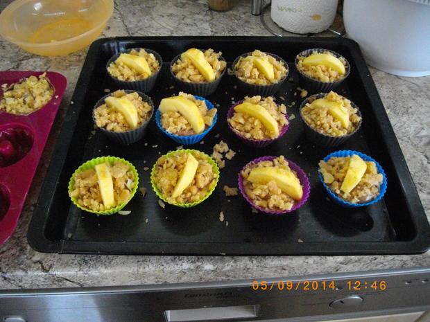 Apfel Mandel Muffins - Rezept - Bild Nr. 1100