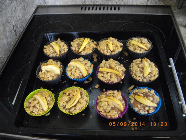 Apfel Mandel Muffins - Rezept - Bild Nr. 1101