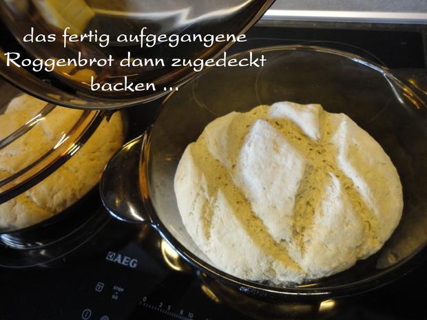 Roggen Brot mit Sauerteig - Rezept - Bild Nr. 1148
