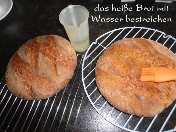 Roggen Brot mit Sauerteig - Rezept - Bild Nr. 1149
