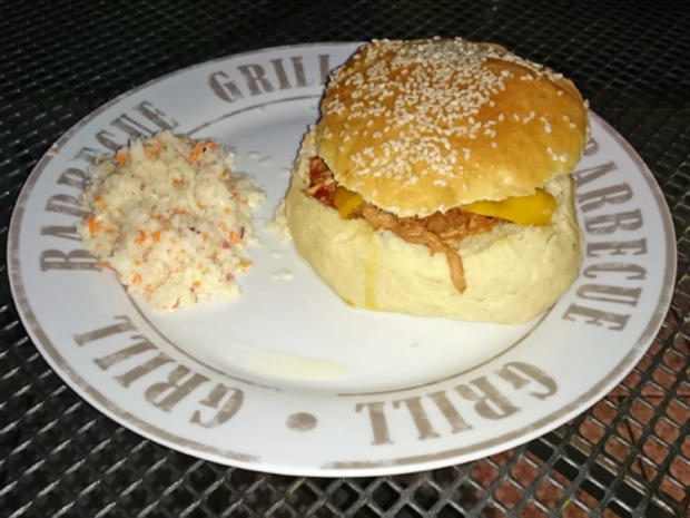Pulled-Pork-Burger mit Westernbeans - Rezept - Bild Nr. 1146