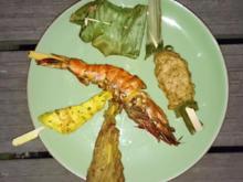 Sala Rim Nam - Scharfer Rindfleischsalat, Fischcurry, Saté, Fischklöße - Rezept - Bild Nr. 1146