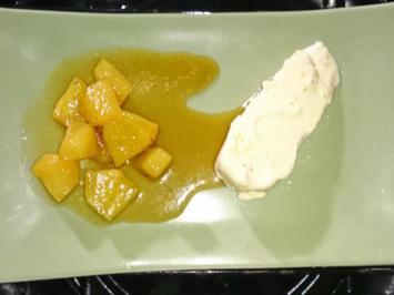 Chili-Vanilleeis, Asiatische Butter, Naan-Brot - Rezept - Bild Nr. 1146