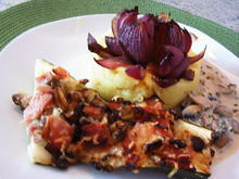 Zucchini mit Champignonfüllung - Rezept - Bild Nr. 1146