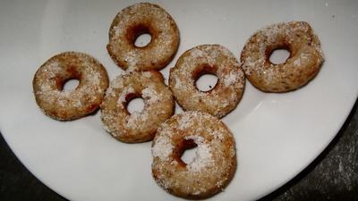 Mini Vanille-Mandel-Donuts - Rezept - Bild Nr. 1146