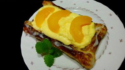 Rezept: pfirsich-puddingteilchen