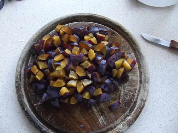 Leos gerollter Pflaumenkuchen - Rezept - Bild Nr. 1181
