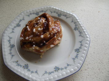Rezept: Leos gerollter Pflaumenkuchen