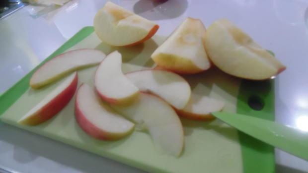 Low Carb Käsekuchen mit Apfel - Rezept - Bild Nr. 1228