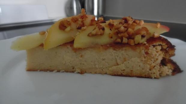 Low Carb Käsekuchen mit Apfel - Rezept - Bild Nr. 1224