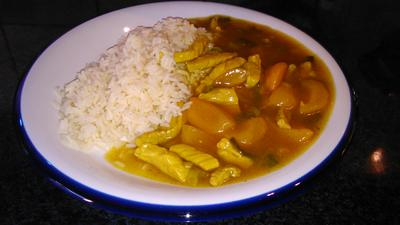 Schweinefilet mit Curry und Aprikosen - Rezept - Bild Nr. 1270