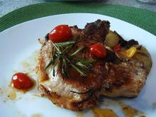 Kotelett mit Frischkäse-Tomatenfüllung - Rezept - Bild Nr. 1351