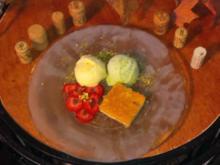 Tarta de limon con helado (Zitronentarte mit Eis) - Rezept - Bild Nr. 1362