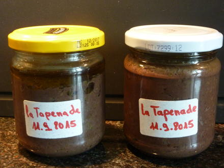Vorrat : La  Tapenade  - Rezept - Bild Nr. 1354